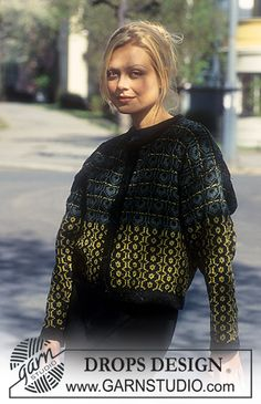 DROPS 48-6 - Jacket in Silke-Tweed. - Free pattern by DROPS Design