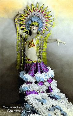 Sun Headdress Follies Bergere