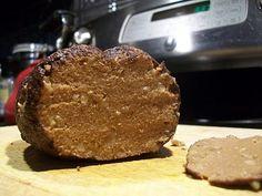 "The Vegetarian Carnivore - Seitan ""beef"" roast. (Scroll down for recipe.)"