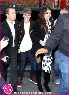 Selena Gomez And Justin Bieber Go On A Date In Los Angeles, California On November 15, 2012