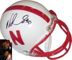 Ndamukong Suh Signed Mini Helmet #SportsMemorabilia #NebraskaCornhuskers