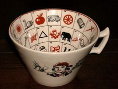 fortune telling teacup.