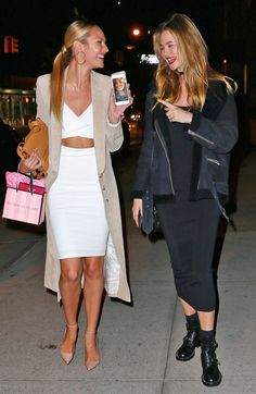 Candice Swanepoel & Behati Prinsloo from The Big Picture: Today's Hot Pics | E! Online
