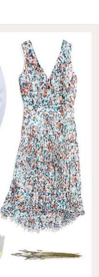 "Very pretty. Perfect for spring summer. Probably need in a petit as I think regular would be too long on my 5'3"" body"