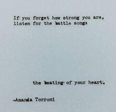 -Amanda Torroni