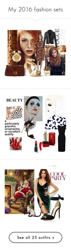 """My 2016 fashion sets"" by dorataya ❤ liked on Polyvore featuring Austin Horn, Tory Burch, Michael Kors, Judith Leiber, Milani, Burberry, redhair, rust, women_fashion and dorataya"