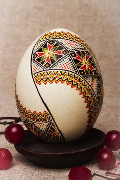 Ornamental Easter egg made of real chicken by UniqueEasterEggs, $19.00 B/W!!! Maybe w dk b bkgd or dots/stars
