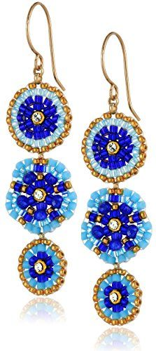 "Miguel Ases Blue Hydro Quartz Linear Drop Earrings, 1.5"" Miguel Ases http://www.amazon.com/dp/B00L2ZX68U/ref=cm_sw_r_pi_dp_BruYtb01WD4BY5BK"