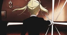 Soul Eater Not GIF (how did Maka become that from nice and mature Maka......)