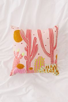 Shop Cactus Landscape Throw Cushion at Urban Outfitters today. We carry all the latest styles, colours and brands for you to choose from right here.
