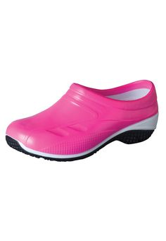 Cherokee Exact Neon closed back nursing clogs. - Scrubs and Beyond cute and relatively inexpensive