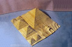 The Bast 18 Origami Models from Ancient Egypt