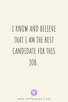 For more of the best positive job interview affirmations and professional affirmations visit Selfpause and see over positive affirmations in different niches! Boost your career mindset with affirmations! Career Affirmations, Positive Affirmations, Motivational Memes, Inspirational Quotes, How The Universe Works, Law Of Attraction Planner, Work Goals, Pep Talks, How To Know