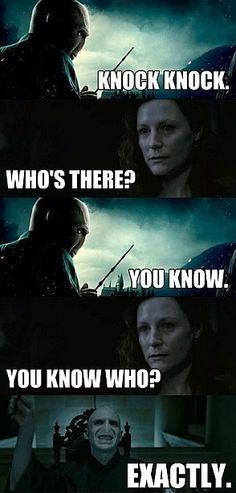 Harry Potter Knock Knock Joke
