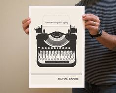 designTAXI.com    New York-based writer and illustrator Evan Robertson has created a series of posters inspired by famous quotes made by great authors in literature—such as Ernest Hemingway, Jane Austen and Oscar Wilde.
