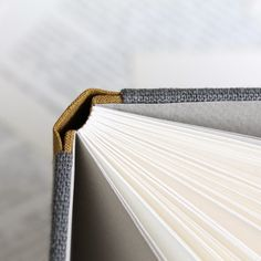 sewn boards binding - linen variations