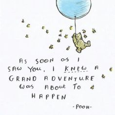 happy quotes & We choose the most beautiful Vow-worthy Winnie the Pooh quotes that will hug your inner kid for you.Winnie the Pooh quotes for your wedding vows as seen on Offbeat Bride most beautiful quotes ideas Great Quotes, Quotes To Live By, Me Quotes, Inspirational Quotes, Vows Quotes, Love Quotes For Wedding, Super Quotes, Romantic Quotes, Quotes For Son