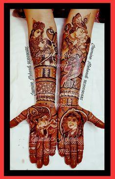 Wedding Mehndi Designs, Dulhan Mehndi Designs, Mehndi Art Designs, Henna Mehndi, Henna Art, Hand Henna, Mehndi Design Pictures, Mehndi Images, Hand Makeup