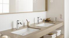 Metris Classic su lavabo a incasso #hansgrohe