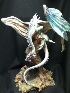 MUNRO DRAGONSITE - HAUNTED OAK DRAGON   LTD ED BY ANDREW BILL
