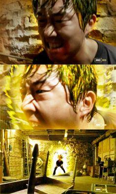 The Walking Dead – Glenn's Rage.. it was one if the best scenes