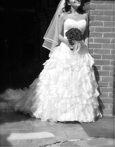 ¡Nuevo vestido publicado!  Ceremonia Boda ¡por sólo $8000! ¡Ahorra un 52%!   http://www.weddalia.com/mx/tienda-vender-vestido-de-novia/ceremonia-t2-4/ #VestidosDeNovia vía www.weddalia.com/mx