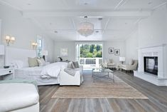 All-White Bedroom Design Ideas White Bedroom Design, All White Bedroom, Warm Bedroom, White Rooms, Bedroom Decor, Bedroom Ideas, Bedroom Furniture, Condo Bedroom, Bedroom Pictures