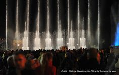Fontaines dansantes à la République | Découvrez Metz en venant nous rendre visite :-) !