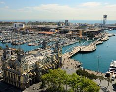 Port Vell - Barcelona, Spain