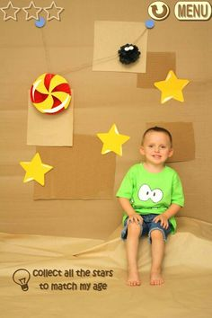 Pretty Much Nailed it!!! Our cut the rope party invitation pictures are a hit!!!