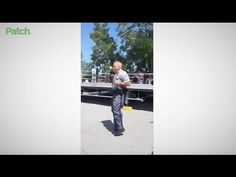 Real community interaction that leaves an impression. I remember as a kid in NJ there was a cop that would pull over and come bounce a few in while we were playing stickball in the schoolyard. Always a hitable pitch. --Police Officer Double Dutch Jumping Rope With Community - YouTube