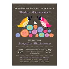 Woodland Quail Baby Shower Invitation II — Woodland Quail Mommy, Daddy, and Baby with colorful rustic logs. Original Illustration by pj_design. Zazzle Invitations, Baby Shower Invitations, Invites, Baby Shower Parties, Baby Shower Gifts, Elements Of Color, All Of The Lights, Couple Shower, Invitation Design