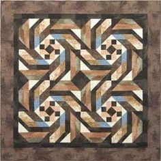 masculine quilts patterns | Changing Ways Quilt Pattern | Masculine Quilts