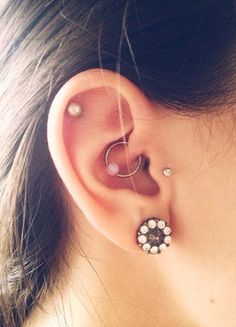 daith piercing - Google Search