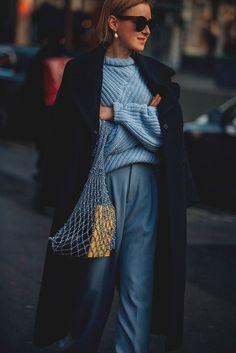 Paris Fashion Week Street Style 2018   British Vogue #StreetFashionStyle