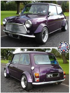 Afternoon Miniacs Sorry for the lack of posts today but we've been swapping our fibre provider at WWWMini Towers and its finally come on. So without further ado here's a beautiful purple W.A.W beasty!
