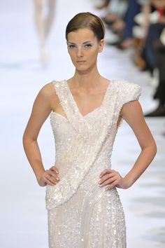Elie Saab at Couture Fall 2009 - StyleBistro