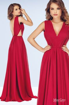 Our red Timea maxi dress looks wonderful for any evening occasion. Maxi Dresses, Formal Dresses, Backless, Red, Fashion, Dresses For Formal, Moda, Formal Gowns