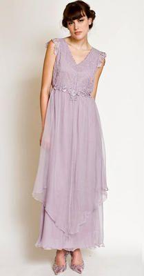 Post Empire romantic dress
