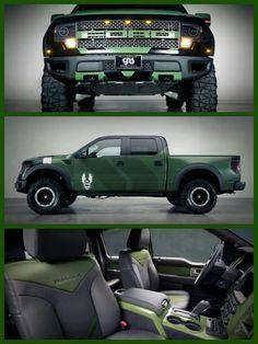 """""""Halo 4"""" Ford F150 SVT Raptor https://www.youtube.com/watch?v=BDnokI5Ny8k"""