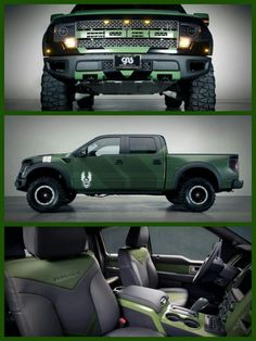 """Halo 4"" Ford F150 SVT Raptor https://www.youtube.com/watch?v=BDnokI5Ny8k"