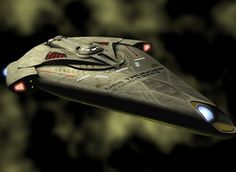 The Thunder Class Federation vessel was created in answer for the need of smaller, powerful, anti-starfighter craft on the battlefield. Taking lessons from the DEFIANT and the Corellian YT-2400, the Thunder Class combines a sizeable weapons punch with the ability to operate in atmosphere, space, gaseous planet atmospheres or even underwater.