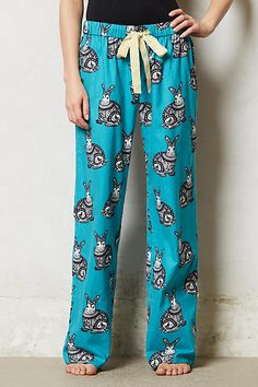 Bunny Flannel Loungers