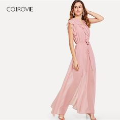 Price $26.49 Like and Share if you want this COLROVIE Jabot Front Drawstring Split Maxi Dress 2018 Summer High Waist Split Ruffle Women Dress Sleeveless Sexy Party Dress     Tag a friend who would love this!       Get it here ---> https://www.fashiondare.com/colrovie-jabot-front-drawstring-split-maxi-dress-2018-summer-high-waist-split-ruffle-women-dress-sleeveless-sexy-party-dress/