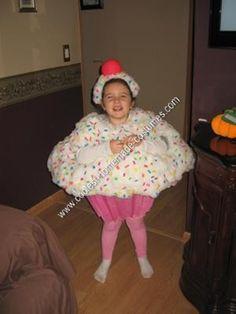 homemade halloween costumes | Coolest Homemade Cupcake Child Halloween Costume 57
