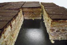 Kávovo orechový rez, recept, Zákusky | Tortyodmamy.sk 3, Tiramisu, Ethnic Recipes, Tiramisu Cake