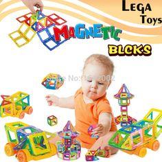 32 UNIDS Mini Diseñador Magnético conjunto Iluminan Ladrillos de Construcción Magnética Modelo y bloques de construcción de juguetes Educativos para niños
