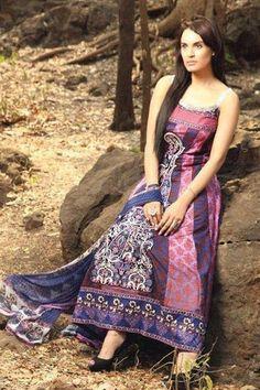 Nadia Hussain Premium Lawn Collection 2013 By Shariq Textiles