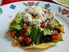 vanessacullagf: Tostadas mexicanas vegetarianas