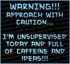 Warning...  @Deanna Schrock  (especially after a Timmy's ice capp... LOL)